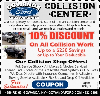 Gowanda Ford Collision Center