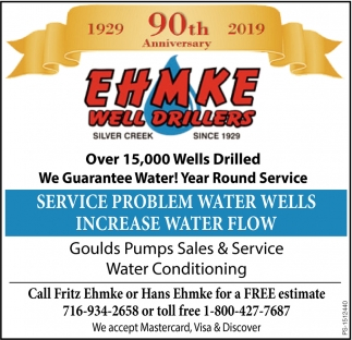 Service Water Conditioning
