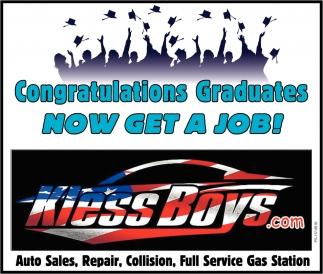 Congratulations Graduates Now Get A Job!