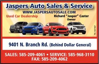 Jasper Car Lots >> Used Car Dealership Jasper S Auto Service Cuba Ny