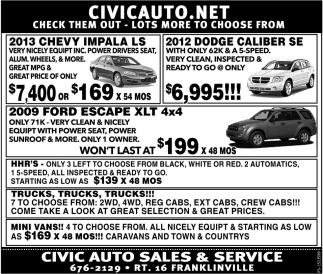 2013 Chevy Impala LS