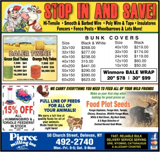 Stop In And Save!