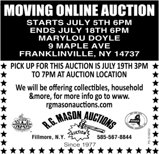 Moving Online Auction