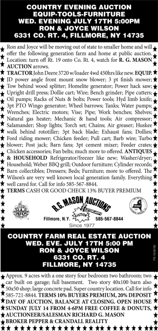 Country Evening Auction