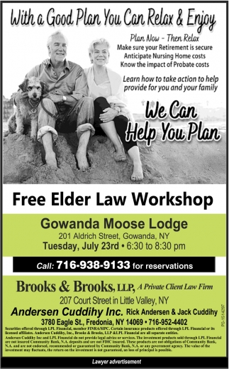 Free Elder Law Workshop