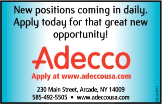New Positions Coming Daily