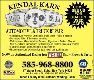 Automotive & Truck Repair