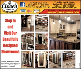 Stop And Visit Our Beautifully Designed Showrooms