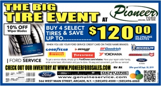 The Big Tire Event