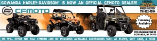 Is Now An Official CFMOTO Dealer!