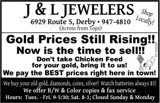 Gold Price Still Rising!