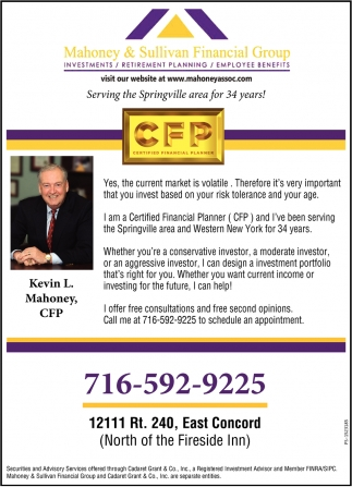 Serving The Springville Area For 34 Years!