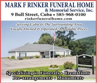 Specializing In Funerals