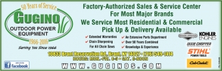 Factory-Authorized Sales & Service