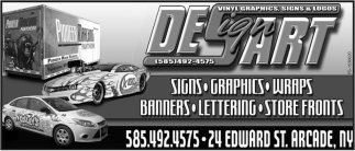 Vinyl Graphics Signs Amp Logos Design Art Arcade Ny