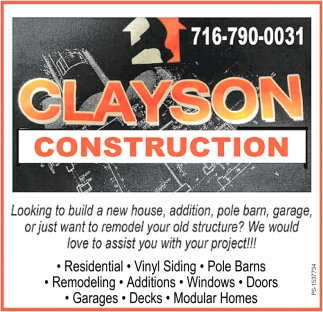 Clayson Construction