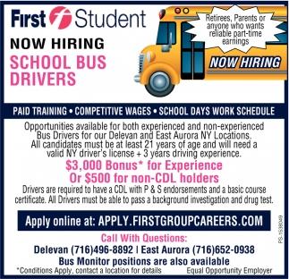 School Bus Drivers