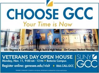 Choose GCC