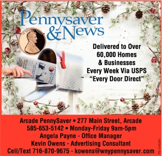 Delivered To Over 60,000 Homes & Businesses