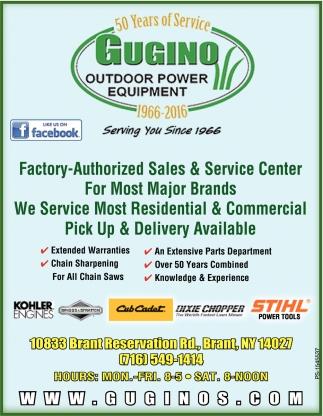 Factory-Authorized Sales & Service