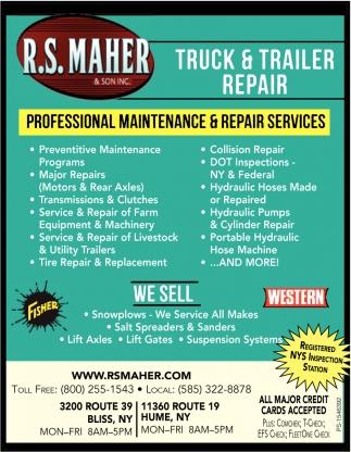 Truck & Trailer Repair