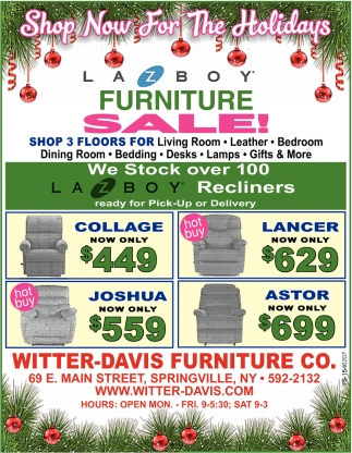 Furniture Sale!