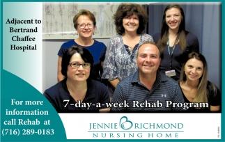 7-Day-A-Week Rehab Program