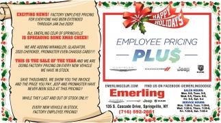 Employment Pricing Plus