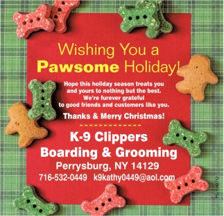 Wishing You A Pawsome Holiday!
