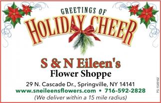 Greetings Of Holiday Cheer