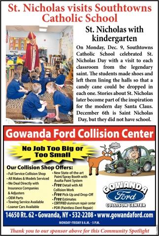 Gowanda Ford Collision Center