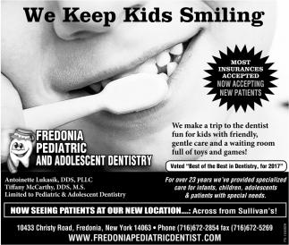 We Keep Kids Smiling