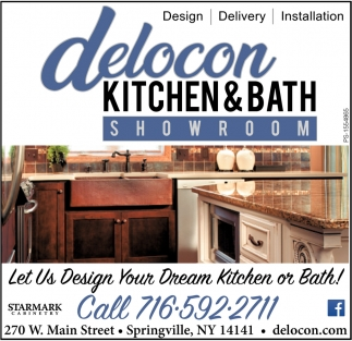 Let Us Design Your Dream Kitchen Or Bath!