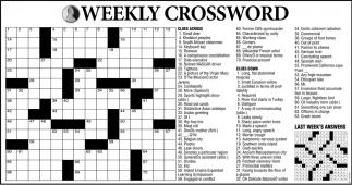 Weekly Crossword