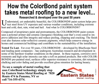 How The Colorbond Paint System Takes Metal Roofing To A