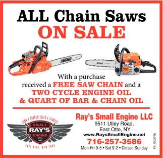 All Chain Saws On Sale